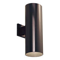 Progress Lighting Cylinder 2 Light Outdoor Wall Lantern in Antique Bronze P5642-20