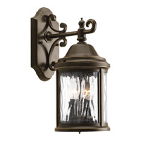 Progress Lighting Ashmore 2 Light Outdoor Wall Lantern in Antique Bronze P5649-20