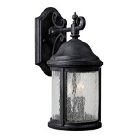 Ashmore 2 Light 16 inch Textured Black Outdoor Wall Lantern