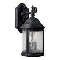 Progress P5649-31 Ashmore 2 Light 16 inch Textured Black Outdoor Wall Lantern