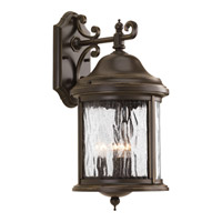 Ashmore 3 Light 17 inch Antique Bronze Outdoor Wall Lantern