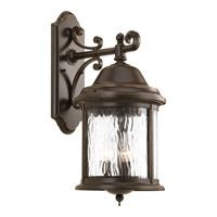 Progress Lighting Ashmore 3 Light Outdoor Wall Lantern in Antique Bronze P5651-20