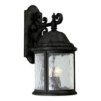 Progress Lighting Ashmore 3 Light Outdoor Wall in Textured Black P5651-31