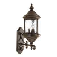Progress Lighting Ashmore 3 Light Outdoor Wall Lantern in Antique Bronze P5652-20