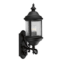 Progress Lighting Ashmore 3 Light Outdoor Wall in Textured Black P5652-31