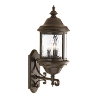 Ashmore 3 Light 28 inch Antique Bronze Outdoor Wall Lantern