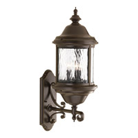 Progress Lighting Ashmore 3 Light Outdoor Wall Lantern in Antique Bronze P5653-20 alternative photo thumbnail