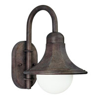 Progress Lighting Die-Cast Shade 1 Light Outdoor Wall in Cobblestone P5654-33