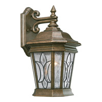 Progress Lighting Cranbrook 1 Light Outdoor Wall in Burnished Chestnut P5658-86
