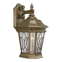 Progress Lighting Cranbrook 1 Light Outdoor Wall in Burnished Chestnut P5659-86