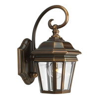 Crawford 1 Light 13 inch Oil Rubbed Bronze Outdoor Wall Lantern