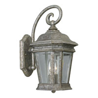 Progress Lighting Crawford 2 Light Outdoor Wall in Golden Baroque P5671-50