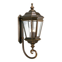 Crawford 4 Light 33 inch Oil Rubbed Bronze Outdoor Wall Lantern