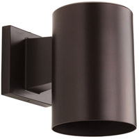 Progress Lighting Cylinder 1 Light Outdoor Wall in Antique Bronze P5674-20