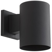Progress Lighting Cylinder 1 Light Outdoor Wall in Black P5674-31
