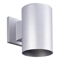 Progress Lighting Cylinder 1 Light Outdoor Wall in Metallic Gray P5674-82