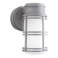 Progress Lighting Bell LED Outdoor Wall Lantern in Textured Graphite with Etched Glass P5676-13630K9