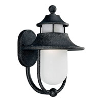 Progress P5678-71STR Cape Cod 1 Light 16 inch Gilded Iron Outdoor Wall Lantern in Energy Star Rated photo thumbnail