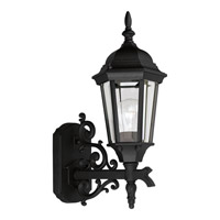 Welbourne 1 Light 17 inch Textured Black Outdoor Wall Lantern