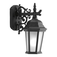 Progress Lighting Welbourne 1 Light Outdoor Wall Lantern in Black P5682-31EB