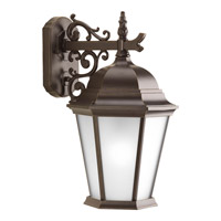 Progress Lighting Welbourne 1 Light Outdoor Wall Lantern in Antique Bronze P5683-20