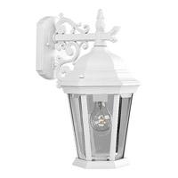 Progress Lighting Welbourne 1 Light Outdoor Wall Lantern in Textured White P5683-30