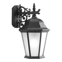 Progress Lighting Welbourne 1 Light Outdoor Wall Lantern in Black P5683-31EB