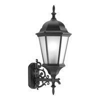 Progress P5684-31EB Welbourne 1 Light 31 inch Black Outdoor Wall Lantern in Etched, Fluorescent alternative photo thumbnail