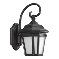Crawford 1 Light 13 inch Black Outdoor Wall Lantern