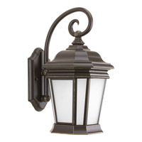 Progress P5686-108 Crawford 1 Light 17 inch Oil Rubbed Bronze Outdoor Wall Lantern