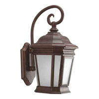Progress Lighting Crawford 1 Light Outdoor Wall in Cobblestone P5686-33STR