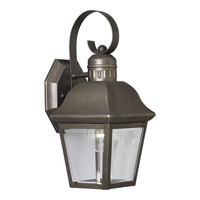 Progress Lighting Andover 1 Light Outdoor Wall in Antique Bronze P5687-20