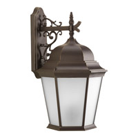 Welbourne 3 Light 22 inch Antique Bronze Outdoor Wall Lantern