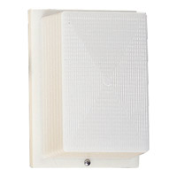 Progress Lighting Hard-Nox 1 Light Outdoor Wall Lantern in White P5694-60