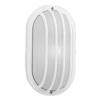 Polycarbonate Outdoor 1 Light 6 inch White Outdoor Wall Lantern