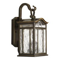 Meadowlark 2 Light 15 inch Oil Rubbed Bronze Outdoor Wall Lantern
