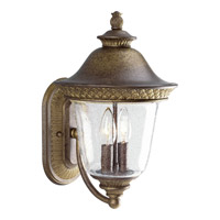 Progress Lighting Savannah 2 Light Outdoor Wall Lantern in Burnished Chestnut P5718-86