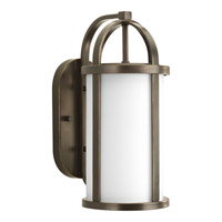 Progress P5719-20 Greetings 1 Light 17 inch Antique Bronze Outdoor Wall Lantern