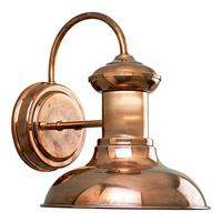 Brookside 1 Light 10 inch Copper Outdoor Wall Lantern