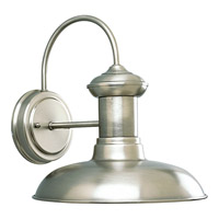 Progress Lighting Brookside 1 Light Outdoor Wall in Antique Nickel P5722-81