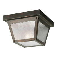 Progress Lighting Signature 1 Light Outdoor Ceiling in Antique Bronze P5727-20