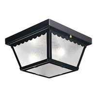 Progress Lighting Signature 2 Light Outdoor Ceiling in Black P5729-31 photo thumbnail