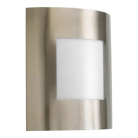 Progress P5736-09 Anson 1 Light 10 inch Brushed Nickel Outdoor Wall Lantern alternative photo thumbnail