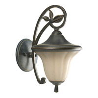 Progress Lighting Le Jardin 1 Light Outdoor Wall Lantern in Espresso P5742-84