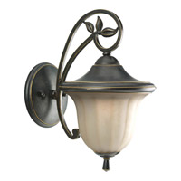 Progress Lighting Le Jardin 1 Light Outdoor Wall Lantern in Espresso P5743-84