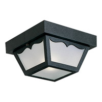 Progress Lighting Signature 1 Light Outdoor Ceiling Lantern in Black P5744-31