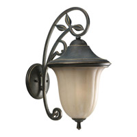 Progress Lighting Le Jardin 1 Light Outdoor Wall Lantern in Espresso P5747-84