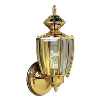 Progress Lighting BrassGUARD 1 Light Outdoor Wall Lantern in Polished Brass P5754-10 photo thumbnail