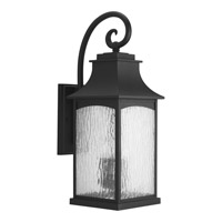 Maison 3 Light 24 inch Black Outdoor Wall Lantern