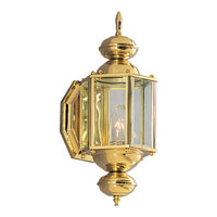 Progress Lighting BrassGUARD 1 Light Outdoor Wall Lantern in Polished Brass P5757-10 photo thumbnail